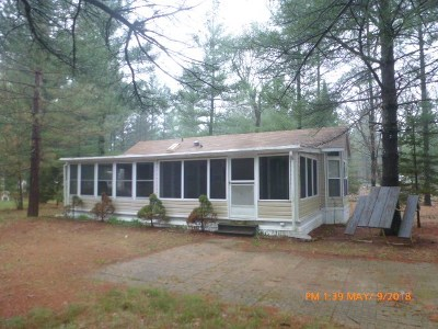 Adams WI Single Family Home For Sale: $24,900