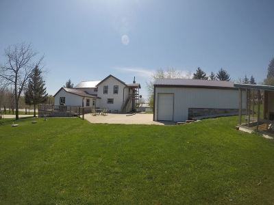 Jefferson County Single Family Home For Sale: N5614 County Road F