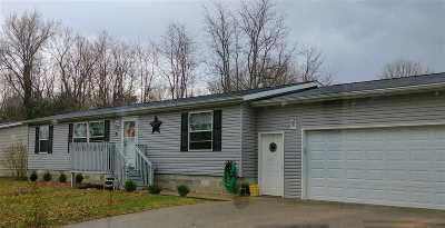 Sauk County Single Family Home For Sale: S1975 County Road A