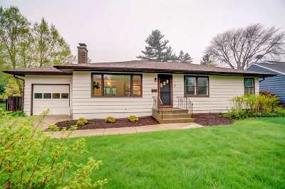 Madison WI Single Family Home For Sale: $484,900