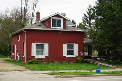 Milton Single Family Home For Sale: 140 E Madison Ave