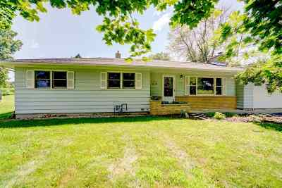 Deforest Single Family Home For Sale: 7394 Morrisonville Rd