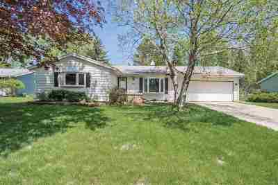 Fitchburg Single Family Home For Sale: 5410 Big Bow Rd