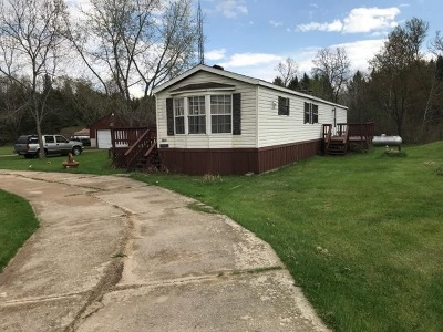 Sauk County Single Family Home For Sale: E14375 Levee Rd