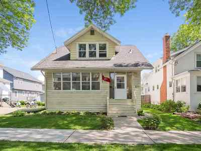 Madison Single Family Home For Sale: 1609 Madison St