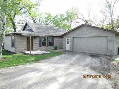 Sauk County Single Family Home For Sale: S2271 Water St