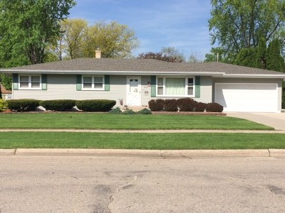 Rock County Single Family Home For Sale: 1613 Liberty Ln
