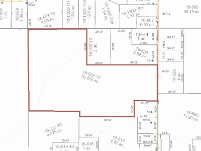 Arkdale Residential Lots & Land For Sale: 19.455 Ac County Road Z
