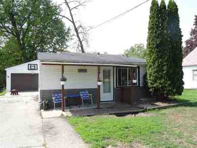 Rock County Single Family Home For Sale: 2032 St. Lawrence Ave
