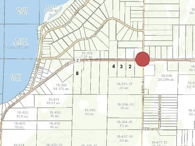 Arkdale Residential Lots & Land For Sale: 4.28 Ac County Road Z