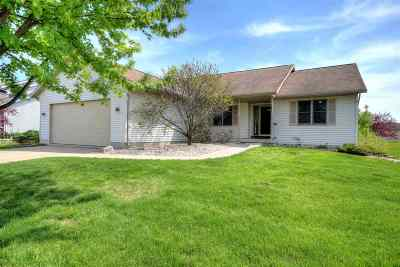 Blue Mounds WI Single Family Home For Sale: $294,900