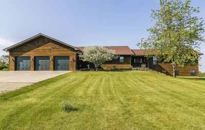 Green County Single Family Home For Sale: N8604 Hay Hollow Rd