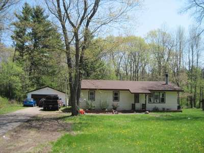 Friendship WI Single Family Home For Sale: $75,900
