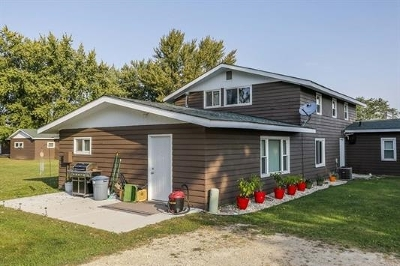 Sauk County Single Family Home For Sale: E4867 Hwy 14