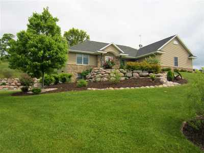 Green County Single Family Home For Sale: N2972 County Road M