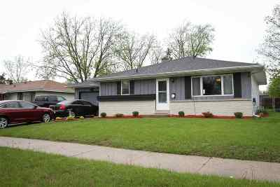 Rock County Single Family Home For Sale: 1540 Kellogg Ave