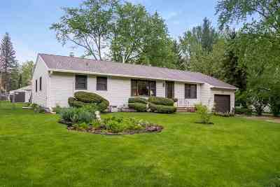 Dane County Single Family Home For Sale: 1709 Woodvale Dr