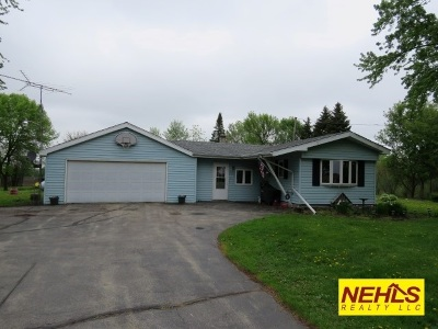 Dodge County Single Family Home For Sale: W6540 Swan Rd