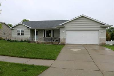 Evansville Single Family Home For Sale: 80 S 6th St
