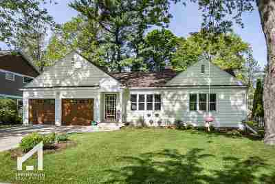 Madison Single Family Home For Sale: 906 Columbia Rd
