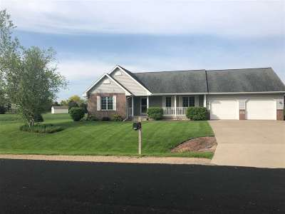 Sun Prairie WI Single Family Home For Sale: $369,900