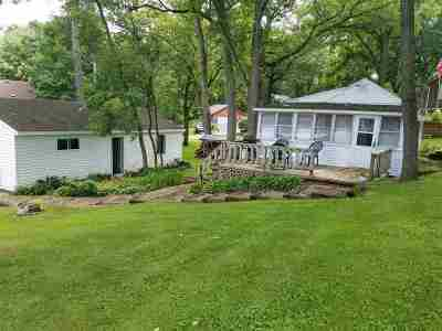 Cambridge Single Family Home For Sale: N4143 Sleepy Hollow Rd
