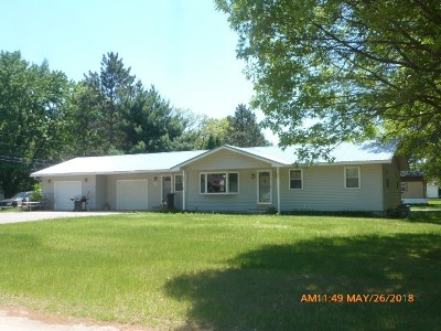 Adams WI Single Family Home For Sale: $114,900