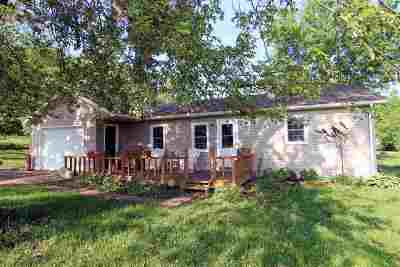 Green County Single Family Home For Sale: W5940 Pioneer Rd