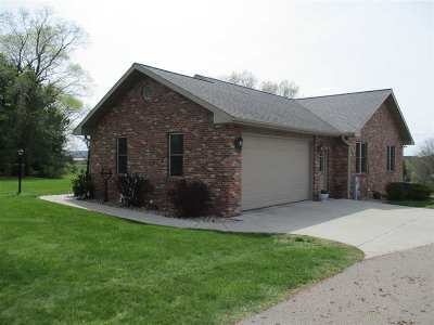 Sauk County Single Family Home For Sale: S3008 Aults Rd