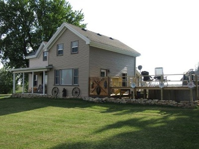 Columbia County Single Family Home For Sale: N2207 Hwy 22