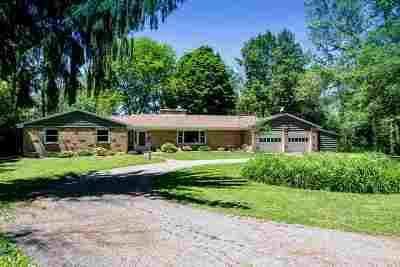 Beloit Single Family Home For Sale: 2158 S Riverside Dr