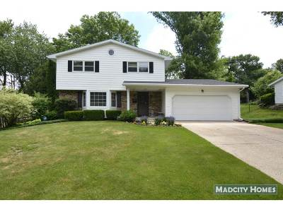 Madison WI Single Family Home For Sale: $274,900