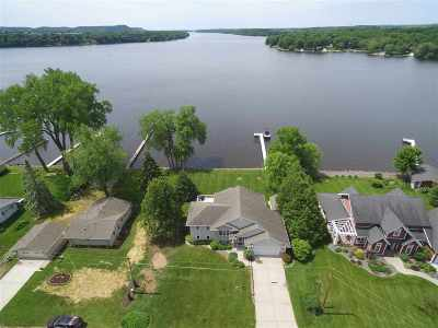 Sauk County Single Family Home For Sale: S7563a W Grandview Ave