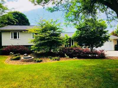 Dodge County Single Family Home For Sale: N8563 Hickory Rd