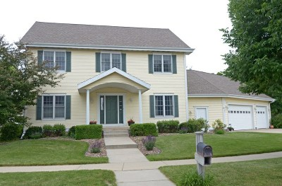 Waunakee Single Family Home For Sale: 1101 Woodbridge Tr