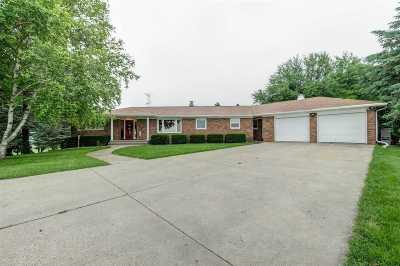 Green County Single Family Home For Sale: W5942 Melvin Rd