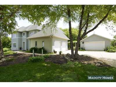Deforest Single Family Home For Sale: 3085 Hawks Haven Tr