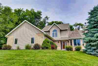 Green County Single Family Home For Sale: W4824 Kubly Rd