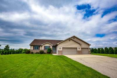 Green County Single Family Home For Sale: N8839 County Road X