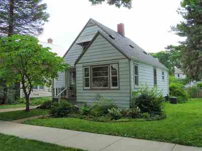 Madison WI Single Family Home For Sale: $224,500