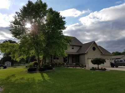 Jefferson County Single Family Home For Sale: N1513 Pleasant Rd