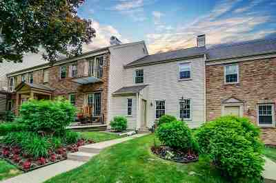 Madison Condo/Townhouse For Sale: 6804 Old Sauk Ct