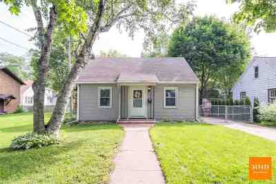 Madison Single Family Home For Sale: 3714 Busse St