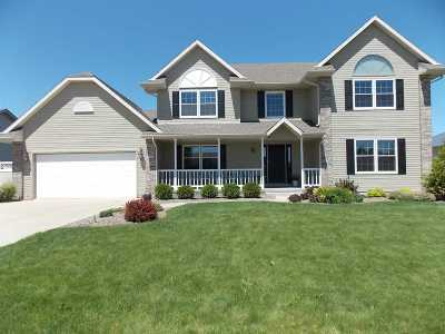 Janesville Single Family Home For Sale: 3959 Curry Ln