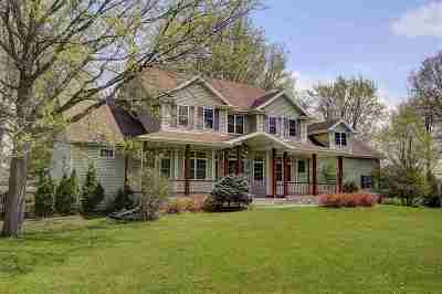 Fitchburg Single Family Home For Sale: 5121 Hill Top Rd