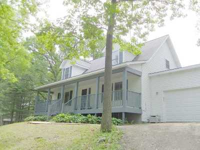 Walworth County Single Family Home For Sale: W8825 Lake Rd