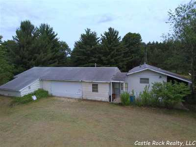 Necedah WI Single Family Home For Sale: $79,900