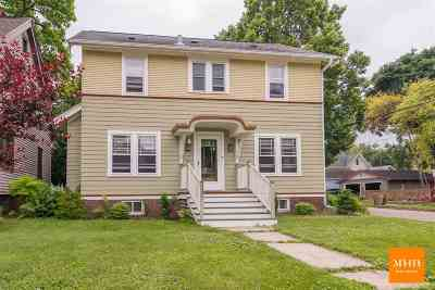 Madison Single Family Home For Sale: 2401 Center Ave
