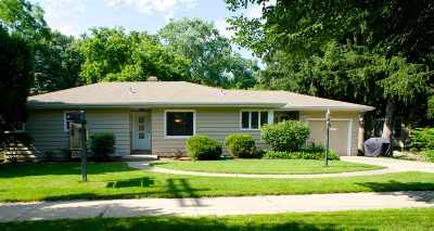Madison Single Family Home For Sale: 4626 Mineral Point Rd