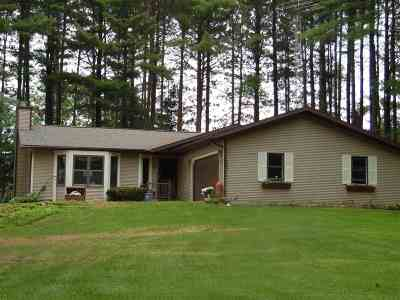 Sauk County Single Family Home For Sale: S2910 Fairway Dr